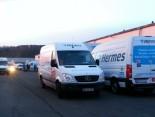 Weihnachtsgeschäft bei Hermes