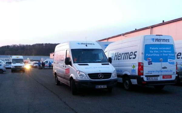 Hochsaison bei hermes hei t weihnachtspakete am laufenden band for Hermes niederlassung heilbronn