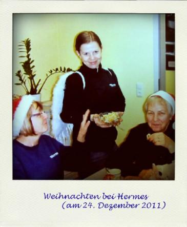 Weihnachten 2011 in der Hermes Niederlassung Erfurt