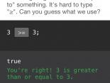 Codecademy-Ergebnis