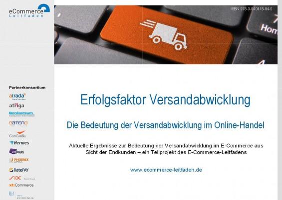 E-Commerce-Leitfaden: Erfolgsfaktor Versandabwicklung