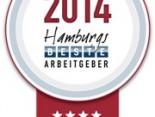 Hamburgs beste Arbeitgeber 2014 Logo