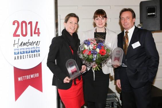 "Preisverleihung ""Hamburgs beste Arbeitgeber"" - Die Preisträger"