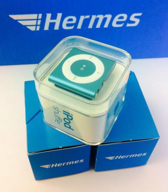 iPod Verlosung im Hermes Blog