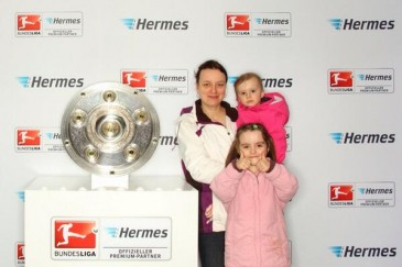 Hermes Fan Tour Stopp in Leipzig