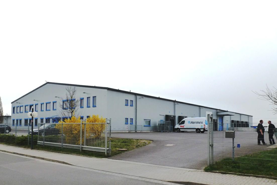 Neue Hermes Niederlassung in Hermsdorf
