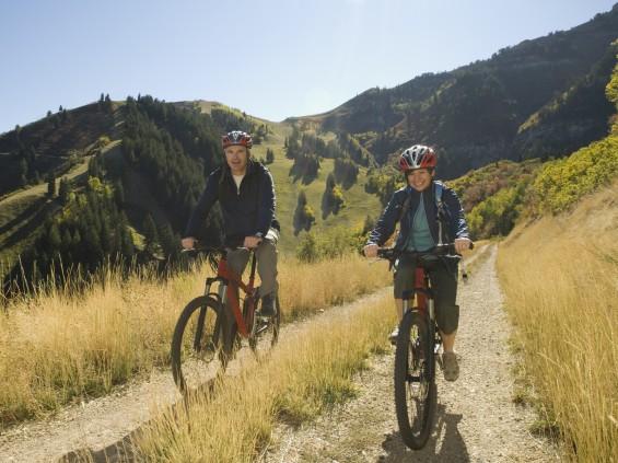Mit dem Fahrrad in die Berge via Hermes Fahrradversand