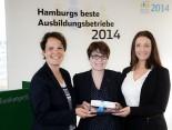 Hermes Verleihung Beste Ausbildungsbetriebe 2014