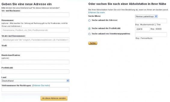 Amazon Premiumversand an Hermes PaketShop_2