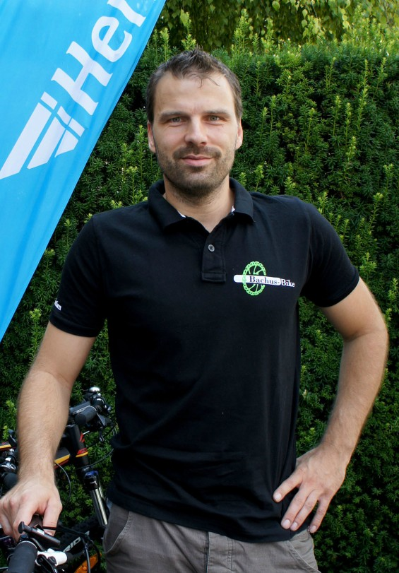 Hermes PaketShop Bachus Bike Christian Bach