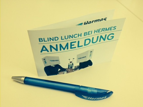 Blind Lunch bei Hermes