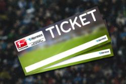Hermes verlost Bundesliga Tickets-Widget