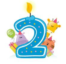 Blog Geburtstag klein