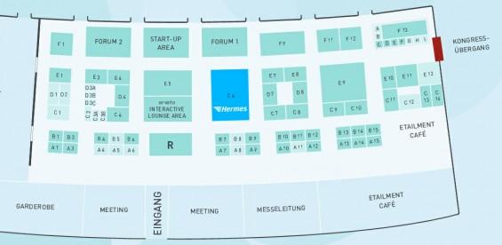 Hermes auf der etailment Expo 2014