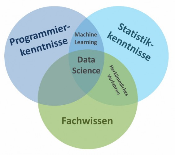 Kenntnisse eines Data Scientist