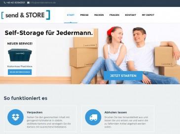 Send&Store Self-Storage für Jedermann
