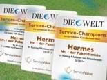 Hermes ist erneut Service-Champion