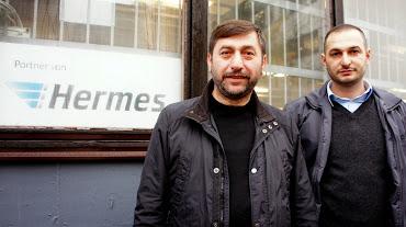 Hermes Generalunternehmer Haci Soylu und Bekir Dogan