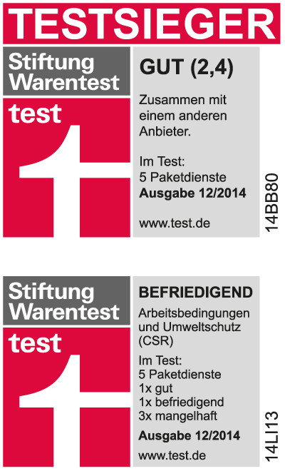 Hermes_Stiftung Warentest_2014