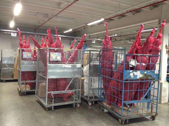 Weihnachtsgeschäft bei Hermes HUB Friedewald
