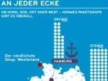 Hermes PaketShops Infografik