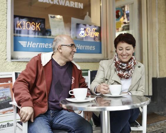 Hermes PaketShop Tele Café Kiosk Berlin