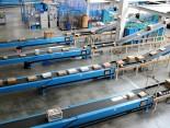 Einblick in das riesige Logistikzentrum