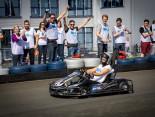 Spannung auf der Ralf Schumacher Kartbahn