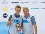 Mika Häkkinen mit seinem Sohn Hugo