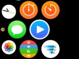 Homescreen Apple Watch mit Hermes App