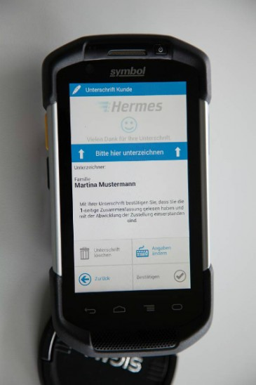 Hermes Einrichtungs Service Mobilcomputer Detail
