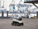 Hermes Zustellroboter Hamburg Hafen