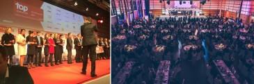 Hermes bei Top Arbeitgeber 2017 Veranstaltung