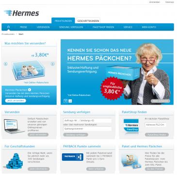 Startseite myHermes.de